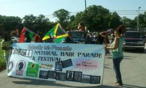 Natural hair procession