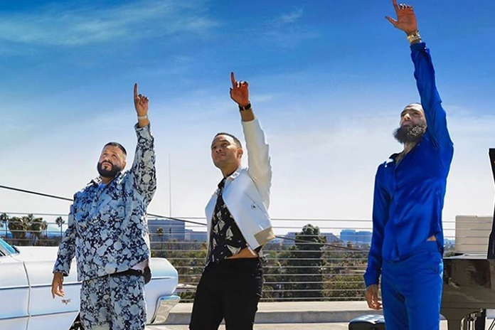 Nipsey Hussle with DJ Khaled and John Legend In Final Music Video