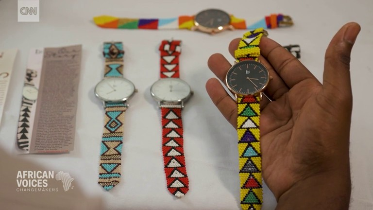Zulu tradition turns into fashion watches