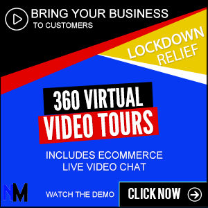 360 Virtual Tours with built-in ecommerce and live chat